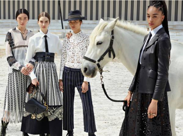 10 лучших образов с показа Dior Cruise 2019, Marie Claire