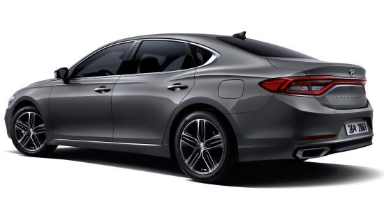 Hyundai Grandeur (2018-2020) цена и характеристики, фотографии и обзор