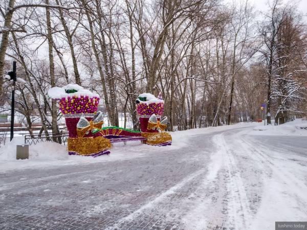 В предвкушении праздника: как украсили Тушино к Новому году 2019