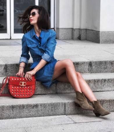 Модные джинсовые платья 2020-2020: трендовые новинки платья из денима, фото