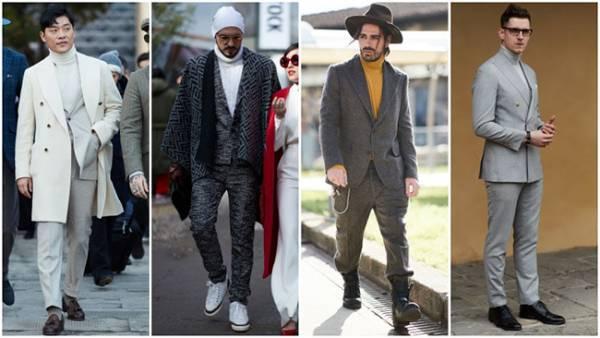 Мужская мода осень-зима 2018