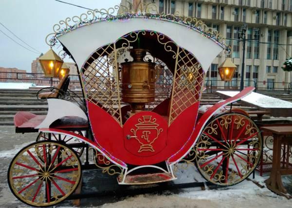 Тула — новогодняя столица России в 2020: праздничные мероприятия