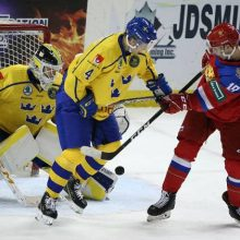Хоккейный матч Швеция-Россия 2020
