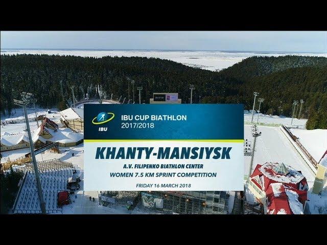 Биатлон Спринт, Женщины () Кубок мира прямая трансляция смотреть онлайн в хорошем качества HD 720p