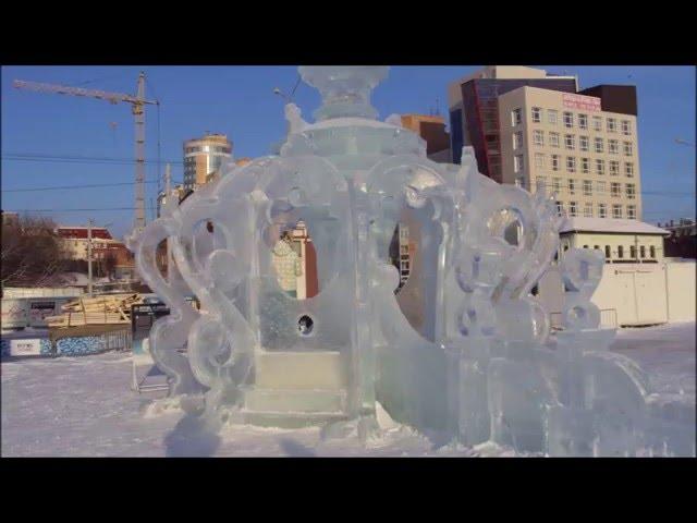 Ледовый городок Пермь 2020