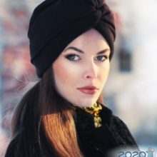 Женские шляпы осень-зима 2020-2020, модные, фото