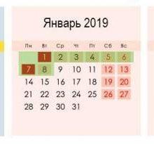 Учебный календарь на 2018-2019 учебный год для России: расписание школьных каникулы