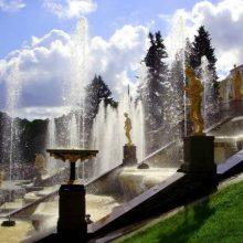 Праздник Открытия фонтанов в Петергофе 2020