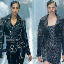 Женские кожаные куртки весна 2020