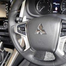 Новая модель Mitsubishi Pajero Sport 2019 заснята на дорогах