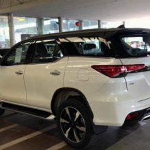 Спортивная Toyota Fortuner TRD2 2020 выходит на рынок