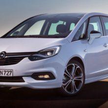Opel Zafira (2018-2020) цена и характеристики, фотографии и обзор