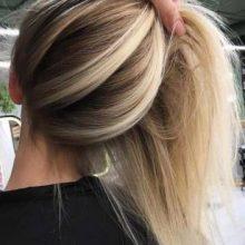 Модное окрашивание волос 2020: виды и техника с фото