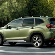 Subaru Forester 5 (2018-2020) цена и характеристики, фотографии и обзор