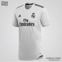 Форма Реал Мадрид на сезон 2018-2020, фото
