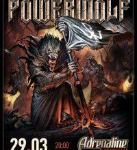 Концерт Powerwolf в Москве 29 Марта 2020 в Adrenaline Stadium — купить билеты, афиша